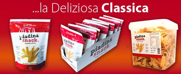 Piadina snack Classica busta espositore cesto