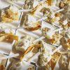 aperitivo con formaggio e piadina fritta